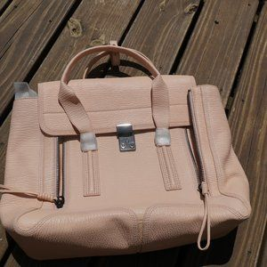 3.1 Philip Lim Pashli Medium Satchel, blush, NWT